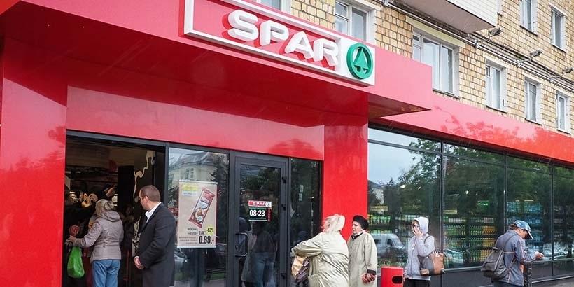 b20e0e99dd54a7 Первый магазин Spar открылся в Минске