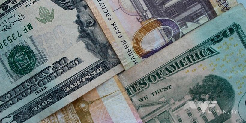 Руб. падает кдоллару иевро настарте торгов вторника