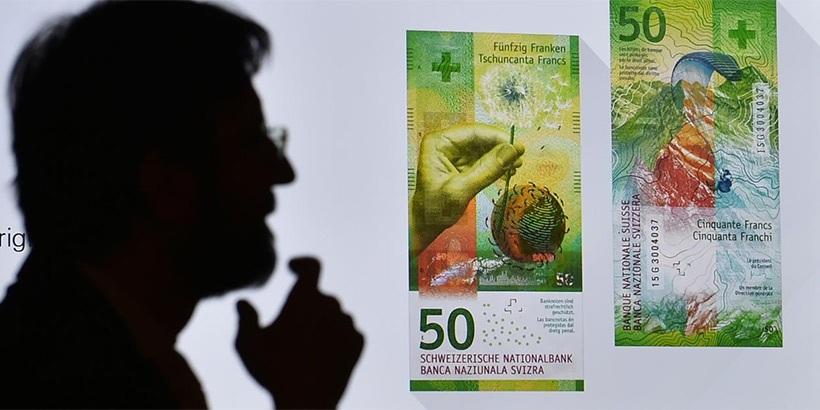Купюру в50 швейцарских франков признали банкнотой года