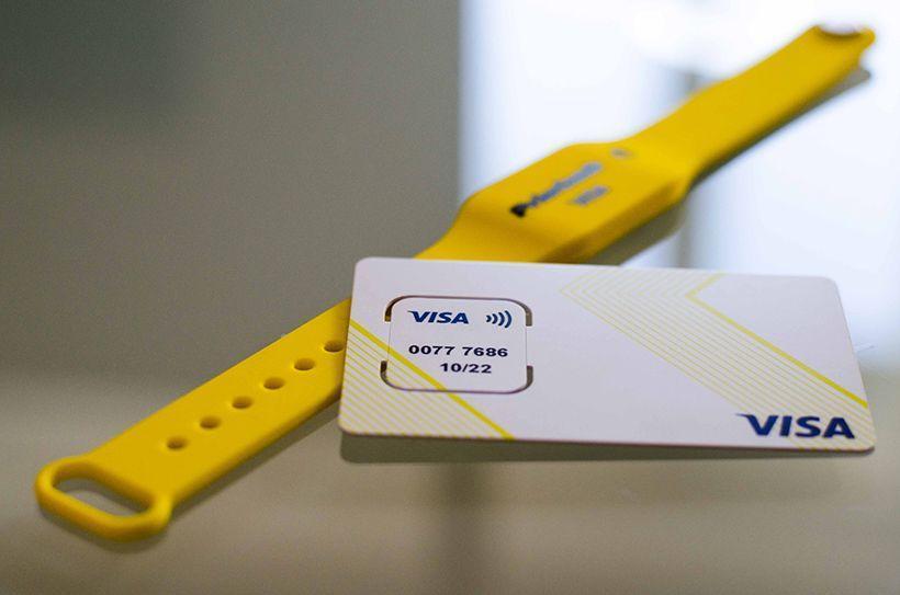 Детские платежные браслеты